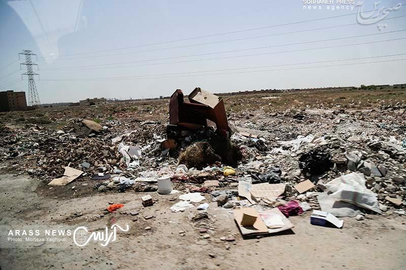 بازدید استاندار خوزستان از کوی مهدیس